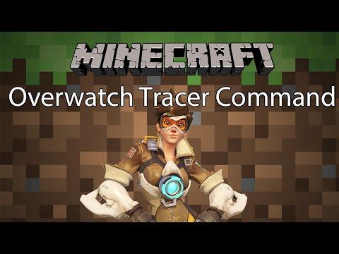 Minecraft Command รีวิว - ตัวละคร Tracer | Overwatch Tracer