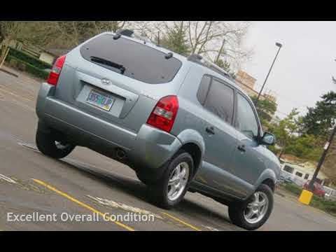 2007 Hyundai Tucson GLS,GAS SAVER,LOW MILEAGE,MUST C!!! for sale in PORTLAND, OR