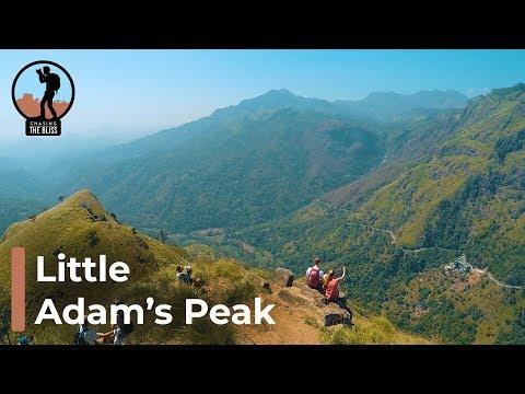 Travel Ella Little Adam's Peak and Ella Rock in Uva, Sri Lanka