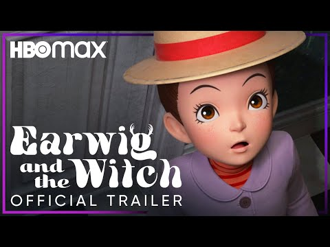 Earwig and the Witch | Official Trailer | HBO Max