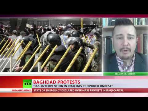 Anti-corruption protesters storm Iraqi paraliament in Baghdad (SPECIAL COVERAGE)