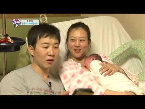 [HIT] 슈퍼맨이 돌아왔다-도경완&장윤정, 꼼꼼이와의 첫 뽀뽀에 '감격'.20140713