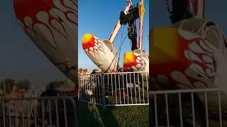 5 year old's favorite ride breaks mid air...with her on it! She is okay!
