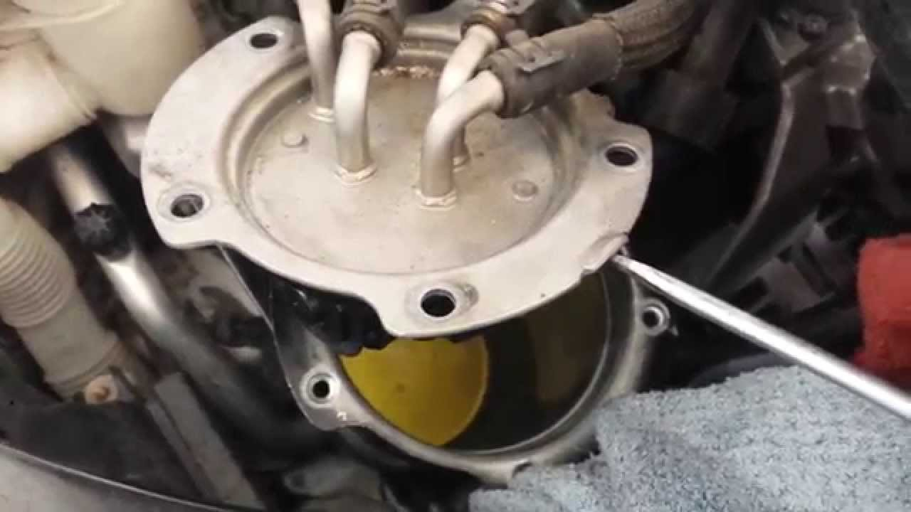 2010 2012 volkswagen vw jetta golf sportwagen tdi mk6 fuel filter2010 2012 volkswagen vw jetta golf sportwagen tdi mk6 fuel filter change installation youtube