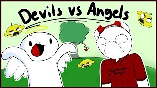 Devils Vs Angels Two w/ TheOdd1sOut by : SomeThingElseYT