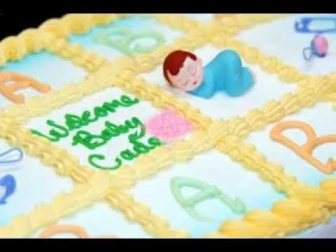 Easy Baby Shower Cake Decorations Ideas