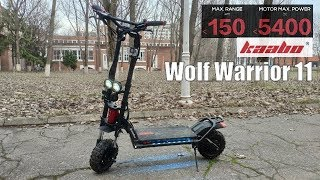 Kaabo Wolf Warrior 11 - Insane 5400W Dual Motor SUV eScooter