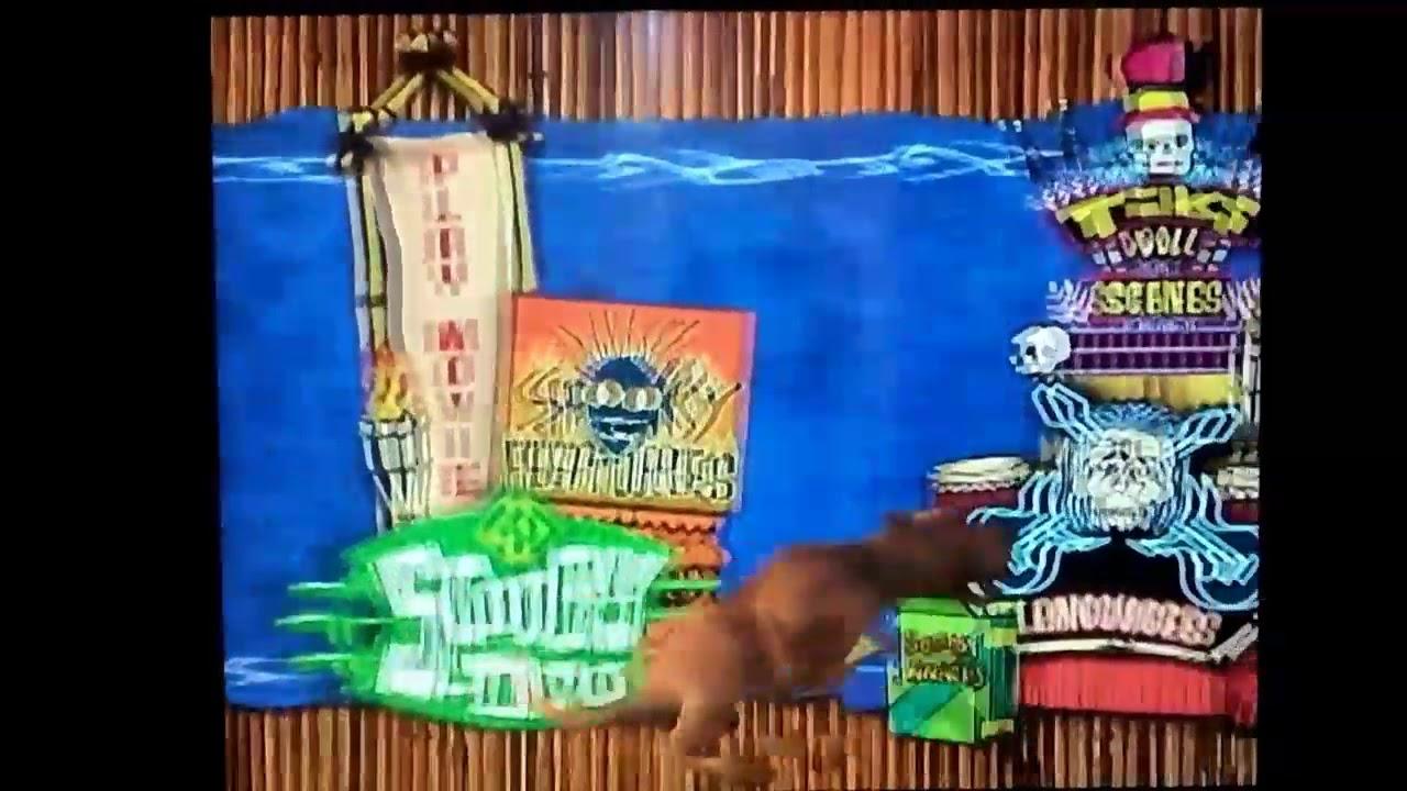 Scooby Doo 2002 Main Menu Dvd Youtube