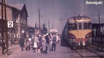 1960-luvun Seinäjoki väreissä