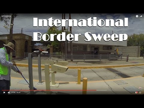 International Border Sweep investigates Camera use in Sonoyta, Son. Mexico GP020024