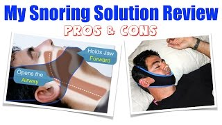 My Snoring Solution Review - Pros & Cons