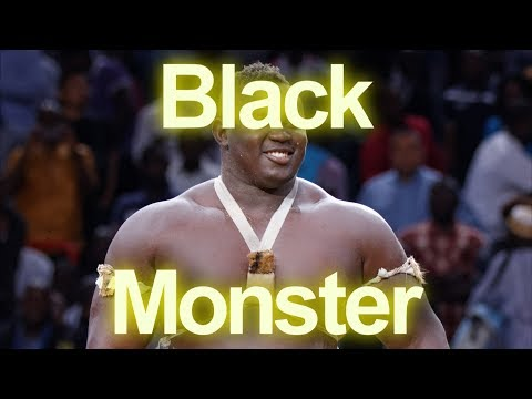 Black Monster playing with Fighter (African UFC)
