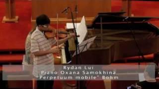 "Rydan Lui ""Perpetuum Mobile"" C.Bohm"