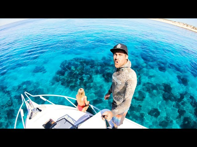 CAMPING ON THE BOAT EATING WHAT YOU CATCH Remote Islands And Amazing Weather - Ep 76