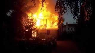 Пожар в жилом доме на Чернышевского Йошкар-Ола