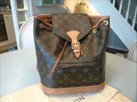 Louis Vuitton Authentication - ITEM 17 Monogram Moyen Montsouris - YouTube a114acd253082