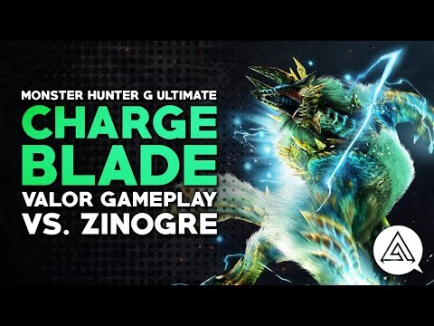 Monster Hunter Generations Ultimate | Charge Blade Valor Gameplay