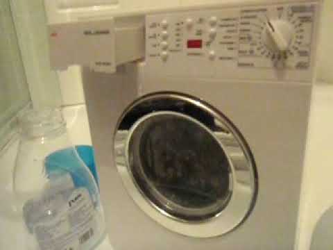 Miele Washing Machine >> AEG Toy washing machine - YouTube