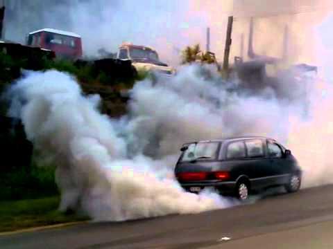 epic diesel engine failure !