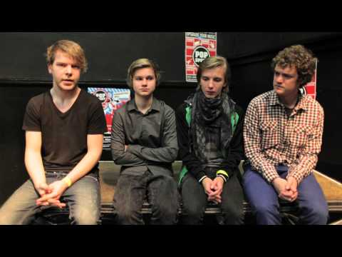 The Lighthouse backstage interview
