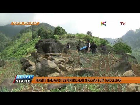 Situs Kerajaan Kuta Tanggeuhan Ditemukan di Cianjur