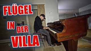 LOSTPLACE : PIANO - FLÜGEL 😱 und Bunker in der Villa  | ItsMarvin