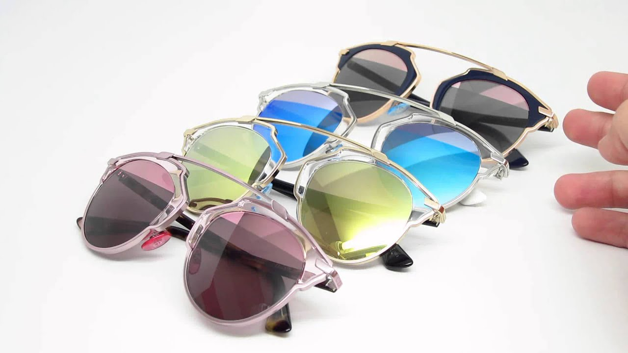 a1d4a11fceb5 Dior So Real Mirrored Sunglasses