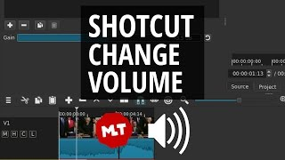 Shotcut Sound Volume | Make Audio Louder and Quieter Tutorial