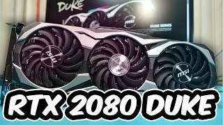 MSI RTX 2080 DUKE VS GTX 1080 ¿DECEPCIÓN o ACIERTO?