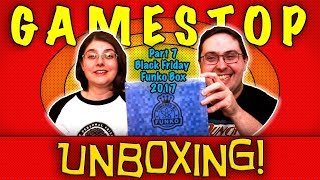 Unboxing! Gamestop Black Friday Funko Mystery Box 2017 - Part 7 Yes, Again!!