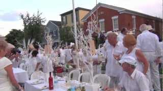 Diner en Blanc Niagara on the lake 2012