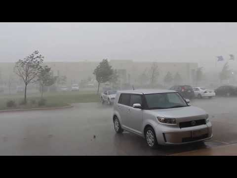 Thumbnail: 9/17/12 Crazy microburst and intense hail storm in SE WI
