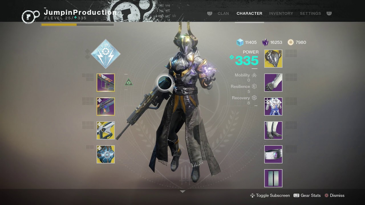 Best Build For Hunter For Raid Destiny