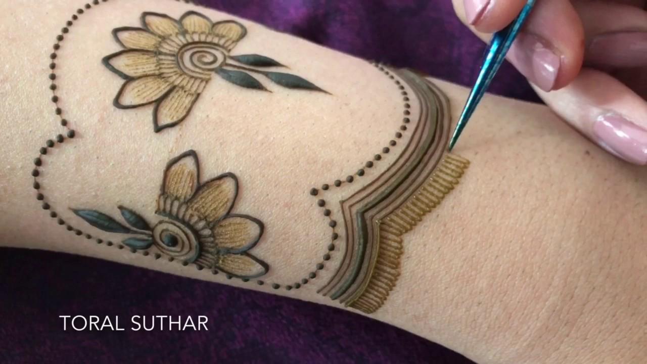 Henna Cuff Www Jamilahhennacreations Com: Toralsuthar - YouTube