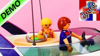 Playmobil Summer Fun 5205 Yacht de luxe | Super bateau à deux étages | Démo