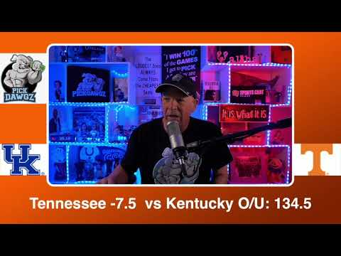 Tennessee vs Kentucky 2/20/21 Free College Basketball Pick and Prediction CBB Betting Tips