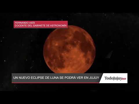 En Jujuy también se verá el eclipse lunar de este martes