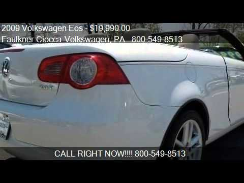 2009 Volkswagen Eos Lux - for sale in Allentown, PA 18103 - YouTube