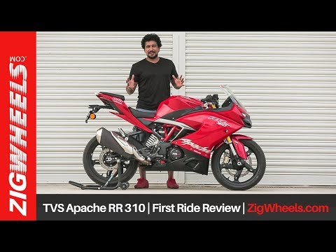 TVS Apache RR 310 | First Ride Review | ZigWheels.com