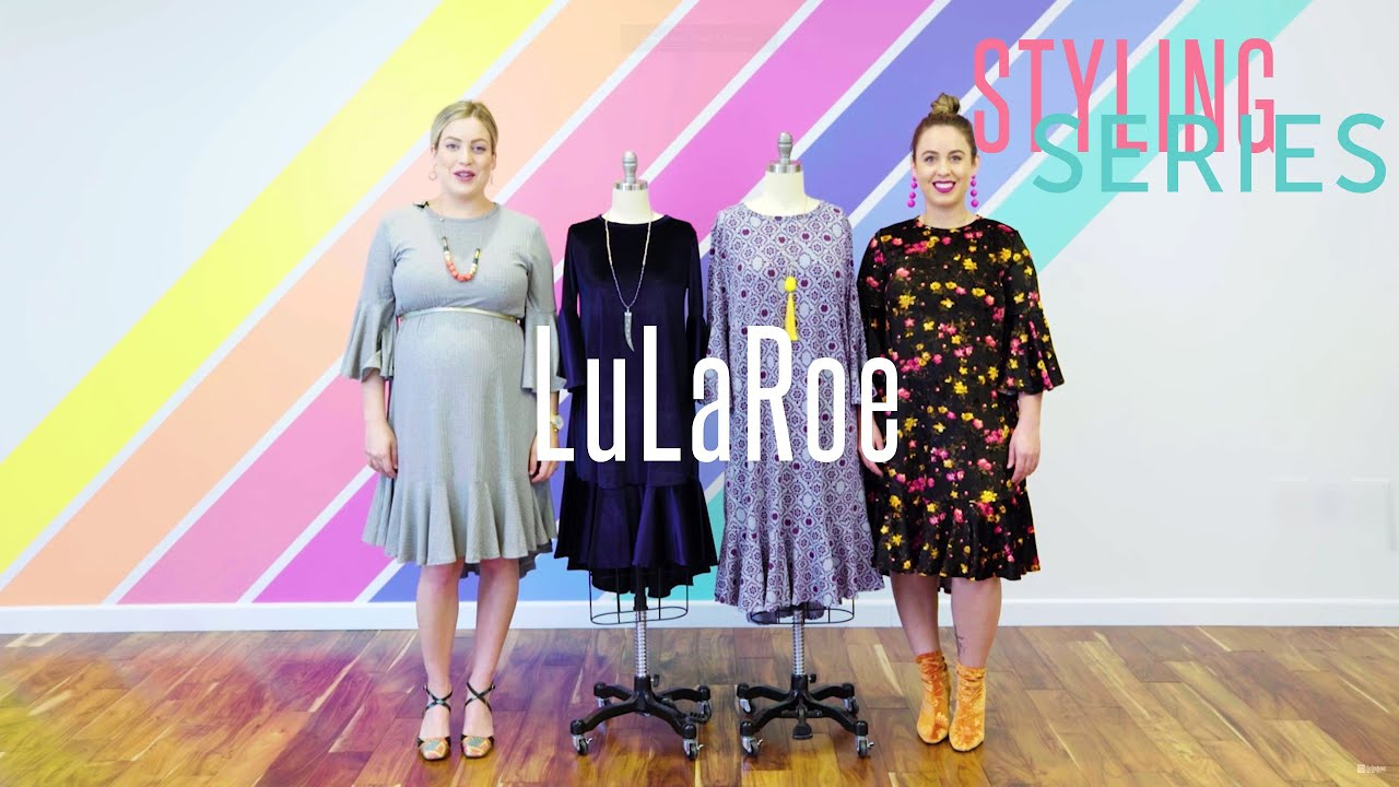 15eccddb389 LuLaRoe    Styling Series  Maurine Dress - YouTube