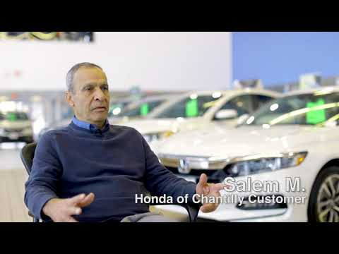 Honda of Chantilly Review - Longtime Customer Returns for Excellent Customer Service