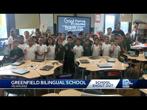 11/13 School shout out: Greenfield Bilingual School
