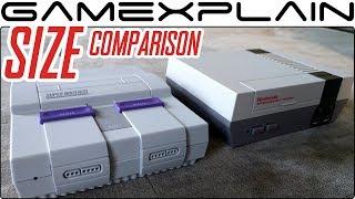 Super NES Size Comparison + Controller Cord Length - Vs. SNES, NES Classic, Switch & More!