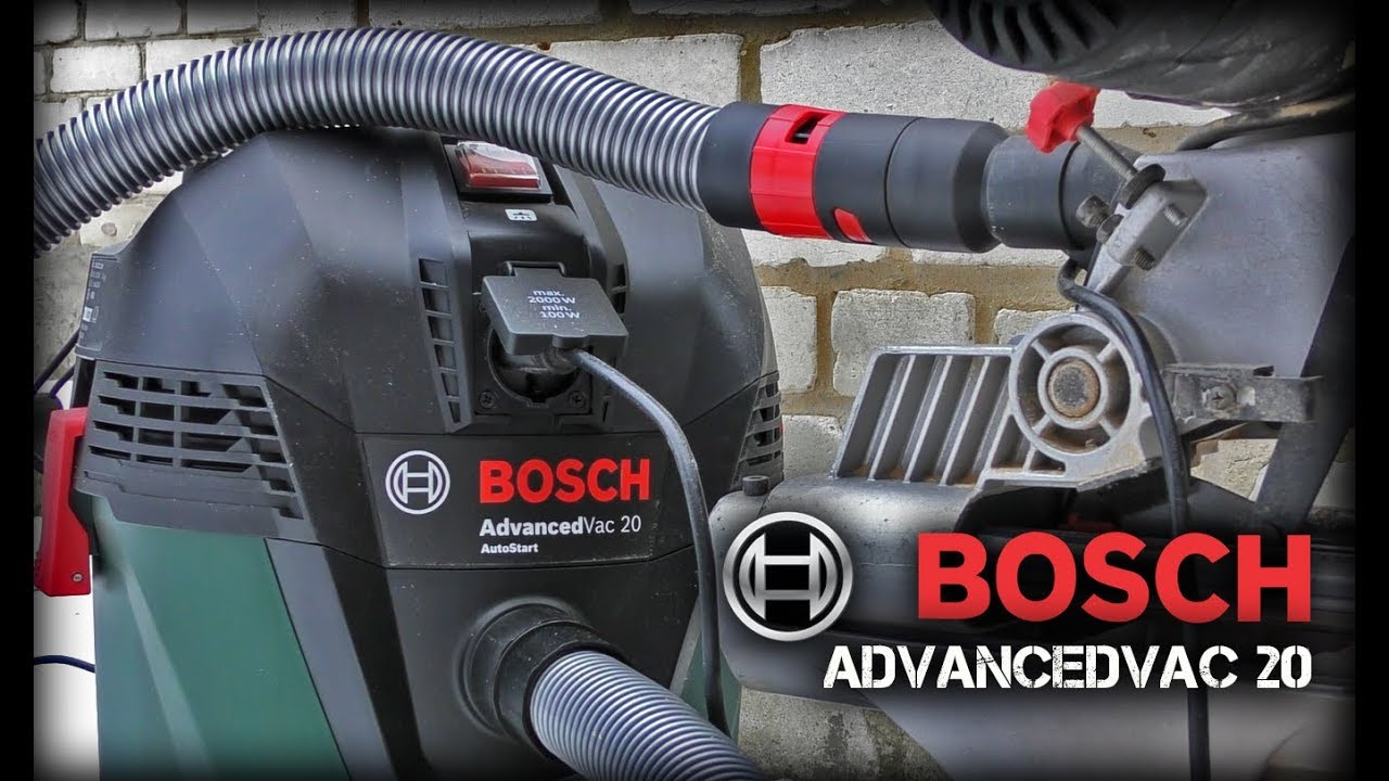 Универсальный пылесос Bosch AdvancedVac 20 - YouTube