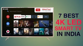 Top 7 Best 4k Smart TV in  ndia Under 50000 with Price  Best Smart TV 2020