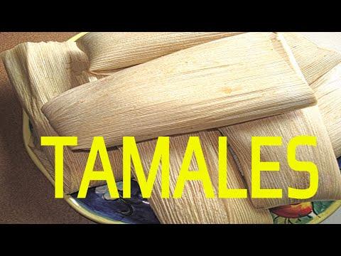COMO ENVOLVER LOS TAMALES DE FACIL FORMA / HOW TO WRAP EASY TAMALES FORM / ENVOLVER TAMALES