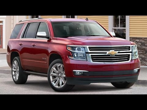 2015 Chevrolet Tahoe Start Up and Review 5.3 L V8