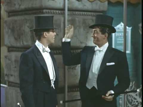 Dean Martin Jerry Lewis Evry Streets Boulevard In Old New York