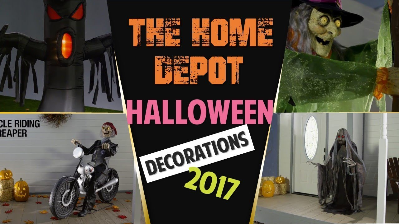 Home Depot Flexible Props : The home depot halloween decorations new youtube