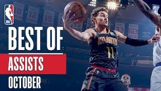 NBA's Best Assists | October 2018-19 NBA Season